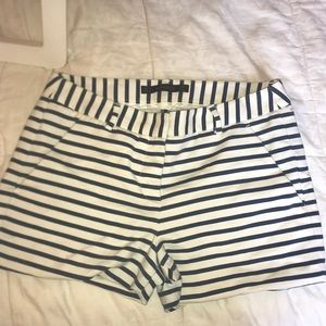 Zara stripped shorts pants